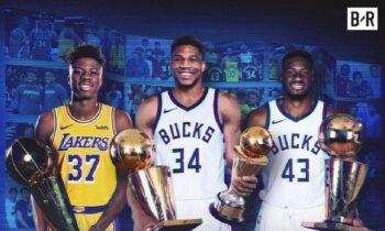 Αντετοκούνμπο: Γιάννης, Θανάσης και Κώστας τα πρώτα τρία αδέλφια με δαχτυλίδι στο NBA