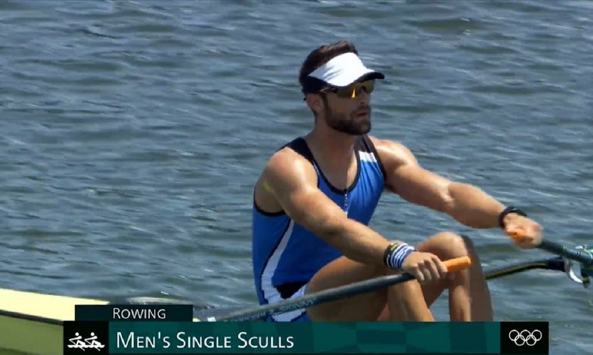 Ολυμπιακοί Αγώνες 2020: Επική εμφάνιση - Ο Στέφανος Ντούσκος στον τελικό της κωπηλασίας!