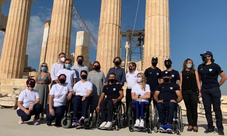 Παραολυμπιακή ομάδα: Υψηλούς στόχους παρέα με την Prince Oliver