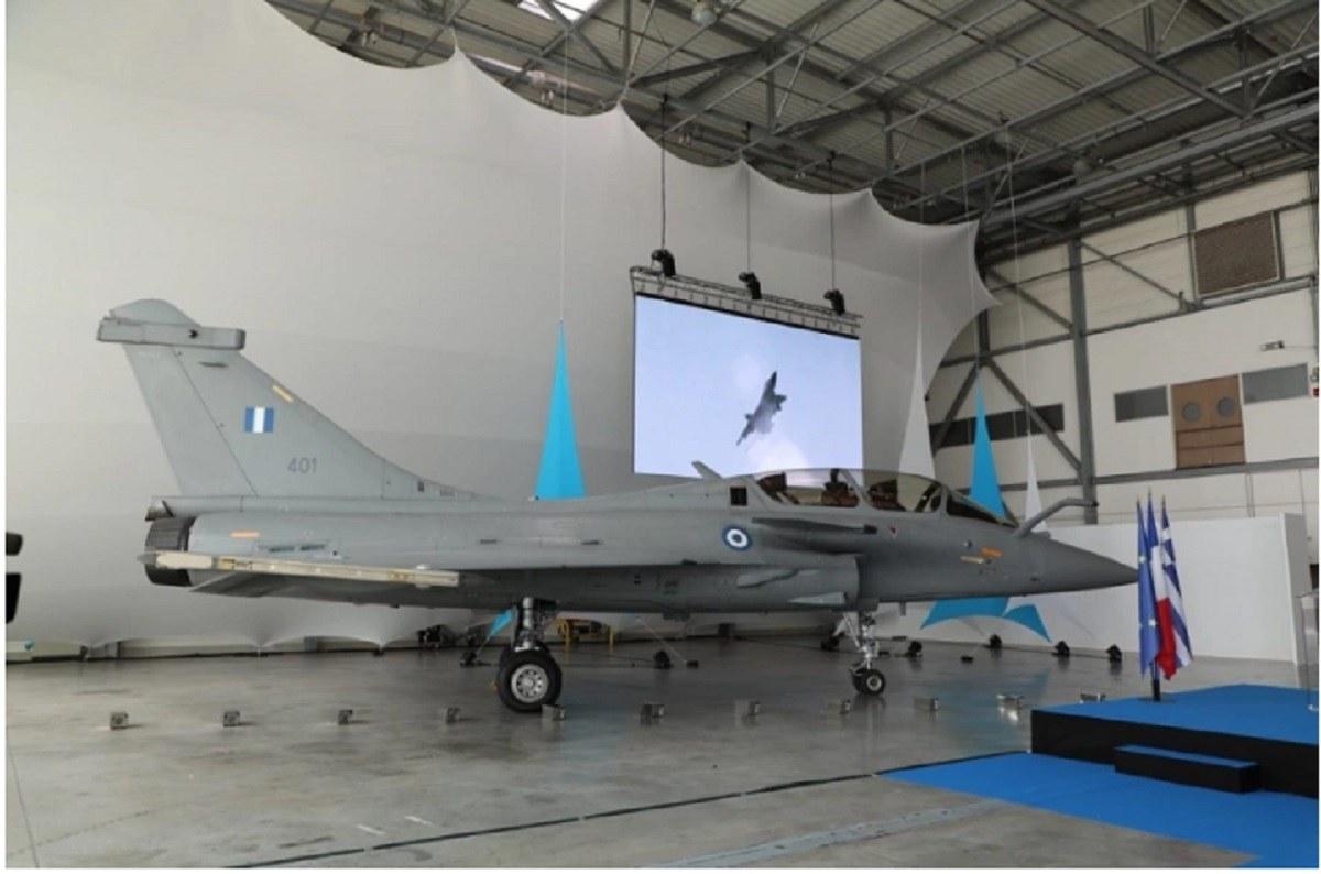 Ένοπλες δυνάμεις: Ολοκληρώθηκε με κάθε επισημότητα η τελετή παράδοσης του πρώτου ελληνικού μαχητικού αεροσκάφους Rafale. Η εκδήλωση έγινε στην αεροπορική βάση στο ISTRES στη Νότια Γαλλία.