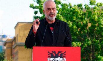 Ο Ράμα καταγγέλει την Ε.Ε επειδή δεν βάζουν την Αλβανία μέσα