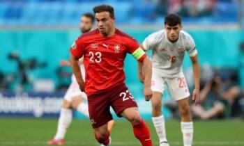 Ο Σακίρι έφερε το παιχνίδι της Ελβετίας με την Ισπανία στα ίσια, δίνοντας νέο ενδιαφέρον στον προημιτελικό.