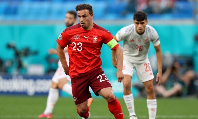 Euro 2020 – Ελβετία – Ισπανία: 1-1, στα ίσια με Σακίρι (vid)