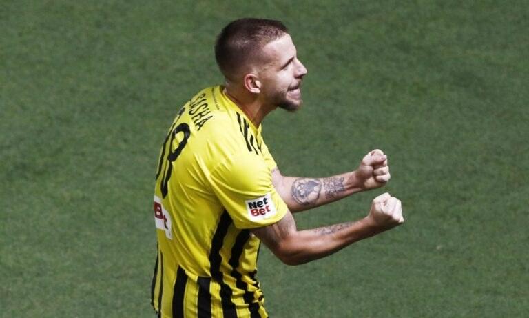 Άρης-Αστάνα: 2-0 με τον Σάσα οι «κίτρινοι» – Αποβλήθηκε ο Ματέο