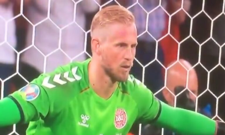 Euro 2020: Σημάδευαν με λέιζερ στα μάτια τον Σμάιχελ στο πέναλτι του Κέιν!