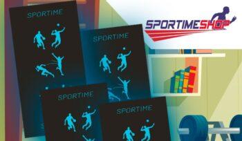 Πετσέτα γυμναστηρίου Sportime
