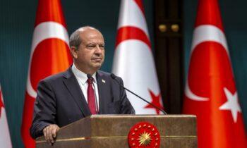Σε νέες εμπρηστικές δηλώσεις προχώρησε ο Τουρκοκύπριος ηγέτης Ερσίν Τατάρ, λέγοντας πως η μόνη λύση είναι τα δύο κράτη και η στήριξη της Τουρκίας.