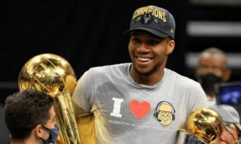 Αθήνα, 21.07.2021 – Μια ανοδική πορεία που ξεκίνησε πριν 8 χρόνια στους Milwaukee Bucks, ένας εντυπωσιακός κύκλος αγώνων στους τελικούς του Αμερικανικού Πρωταθλήματος, η συγκλονιστική κατάκτηση του κορυφαίου τίτλου 2021 NBA Champion.