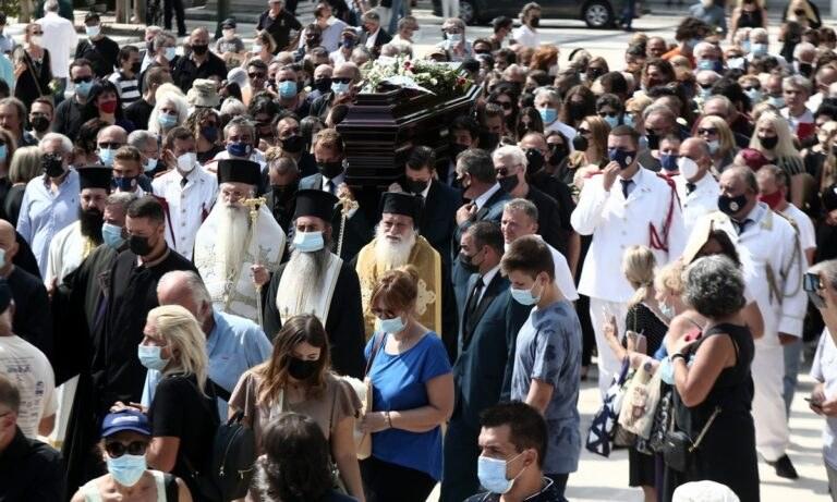 Τόλης Βοσκόπουλος: Το τελευταίο «αντίο» (pics)