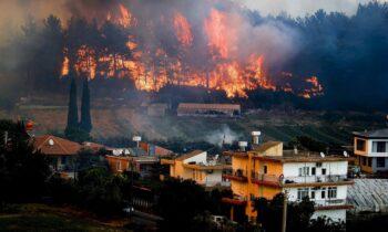 Τουρκία: Δεκάδες πύρινα μέτωπα έχουν πλήξει τη γειτονική χώρα, η οποία μετρά ήδη νεκρούς από τις φονικές πυρκαγιές. Δείτε το video.