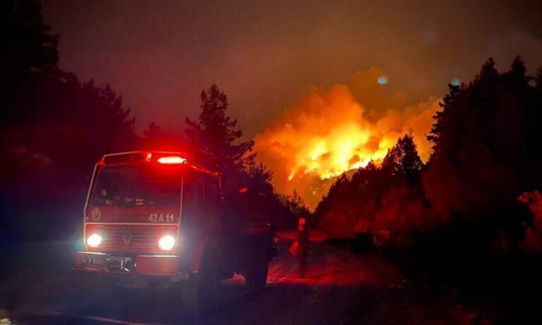 Τουρκία: Zητάνε βοήθεια από την Ελλάδα για τις φωτιές – Στέλνουν στο Twitter της Σακελλαροπούλου