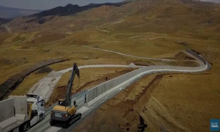 Η Τουρκία μιμείται την Ελλάδα και φτιάχνει φράχτη για τους Αφγανούς
