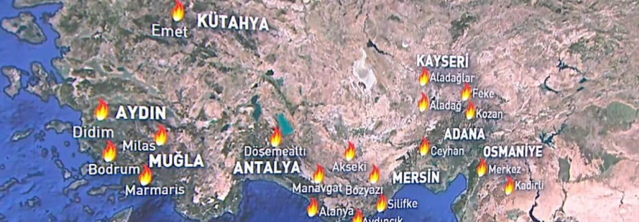 Τουρκία πυρκαγιές