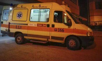 Κρήτη: Τραγωδία στα Χανιά όπου ένας 18χρονος έχασε τη ζωή του όταν η μοτοσικλέτα που οδηγούσε συγκρούστηκε με ΙΧ.
