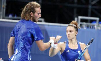 Ολυμπιακοί Αγώνες 2020: Δεν τα κατάφεραν Σάκκαρη και Τσιτσιπάς – Αποκλεισμός από τους Αυστραλούς!