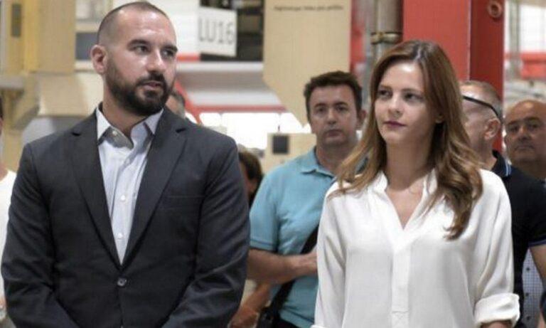 Δημήτρης Τζανακόπουλος – Έφη Αχτσιόγλου: Για πρώτη φορά γονείς