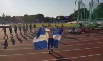 Η Ελίνα Τζένγκο ήταν από τις πρωταγωνίστριες της Εθνικής Ομάδας στο Ευρωπαϊκό Πρωτάθλημα Κ20 που έριξε την αυλαία του την Κυριακή στο Ταλίν.