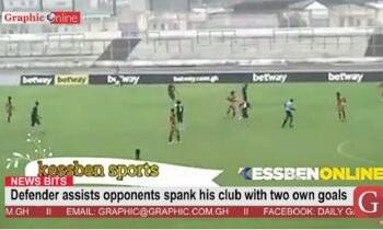 Aγώνας στη Γκάνα είχε «στηθεί» για να λήξει 5-1, αλλά ένας προφανώς τίμιος ποδοσφαιριστής που δεν ανεχόταν τέτοια κατάσταση, χάλασε το σκηνικό πετυχαίνοντας δύο αυτογκόλ!