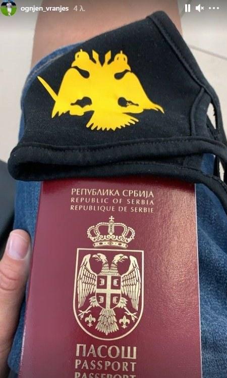 Πανέτοιμος να επιστρέψει στην ΑΕΚ ο Όγκνιεν Βράνιες που… πετάει για να βρεθεί στην Αθήνα και να υπογράψει το νέο του συμβόλαιο.