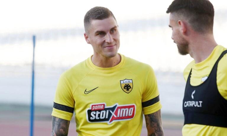 ΑΕΚ: Η πρώτη προπόνηση Βράνιες, τρέχουν να τον δηλώσουν με Αραούχο στην UEFA (pics-vid)