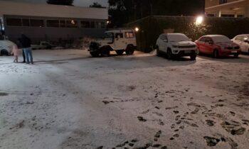 Βραζιλία: Απίστευτα καιρικά φαινόμενα για την εποχή με σφοδρές χιονοπτώσεις σε πολλές περιοχές της χώρας, κατά το τελευταίο 48ωρο.