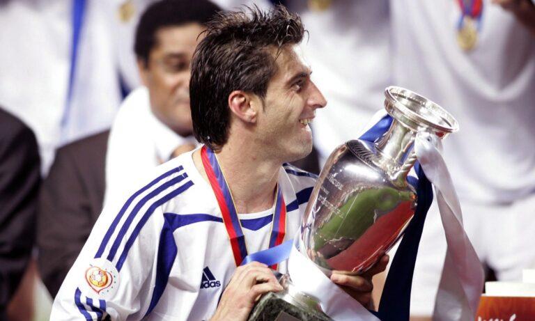 Ζαγοράκης για Euro 2004: «Η πανίσχυρη δύναμη της ομάδας»