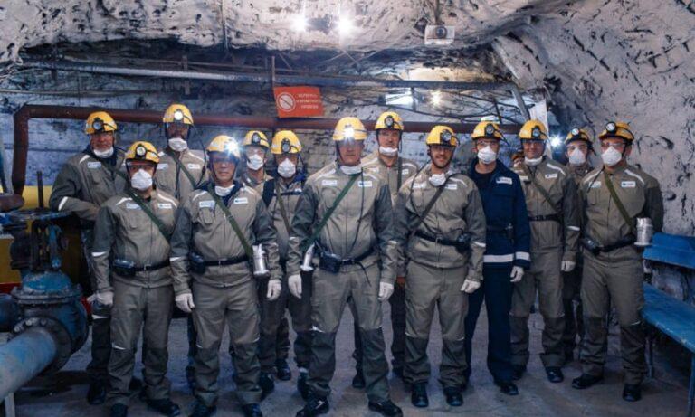Ο Δημήτρης Ιτούδης πήγε την ΤΣΣΚΑ σε εκπαιδευτικό ταξίδι στα ορυχεία του Norilsk κι εξηγεί το γιατί (Pics)