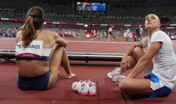 Μπορεί το μετάλλιο να μην ήρθε, σε ένα μεγάλο τελικό, αλλά η Κατερίνα Στεφανίδη κατέλαβε την 4η θέση και η Νικόλ Κυριακοπούλου την 8η.