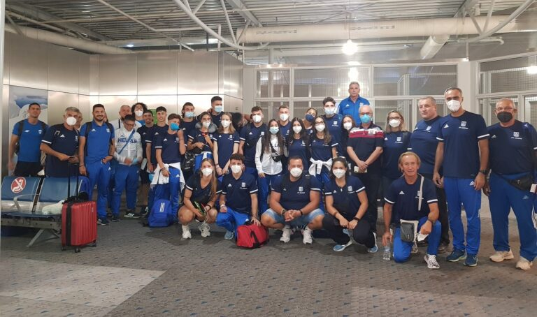 Για το Ναϊρόμπι της Κένυας ταξίδεψε την Κυριακή τα ξημερώματα η Εθνική Ομάδα, Κ20 που θα συμμετάσχει στο Παγκόσμιο Πρωτάθλημα της κατηγορίας.