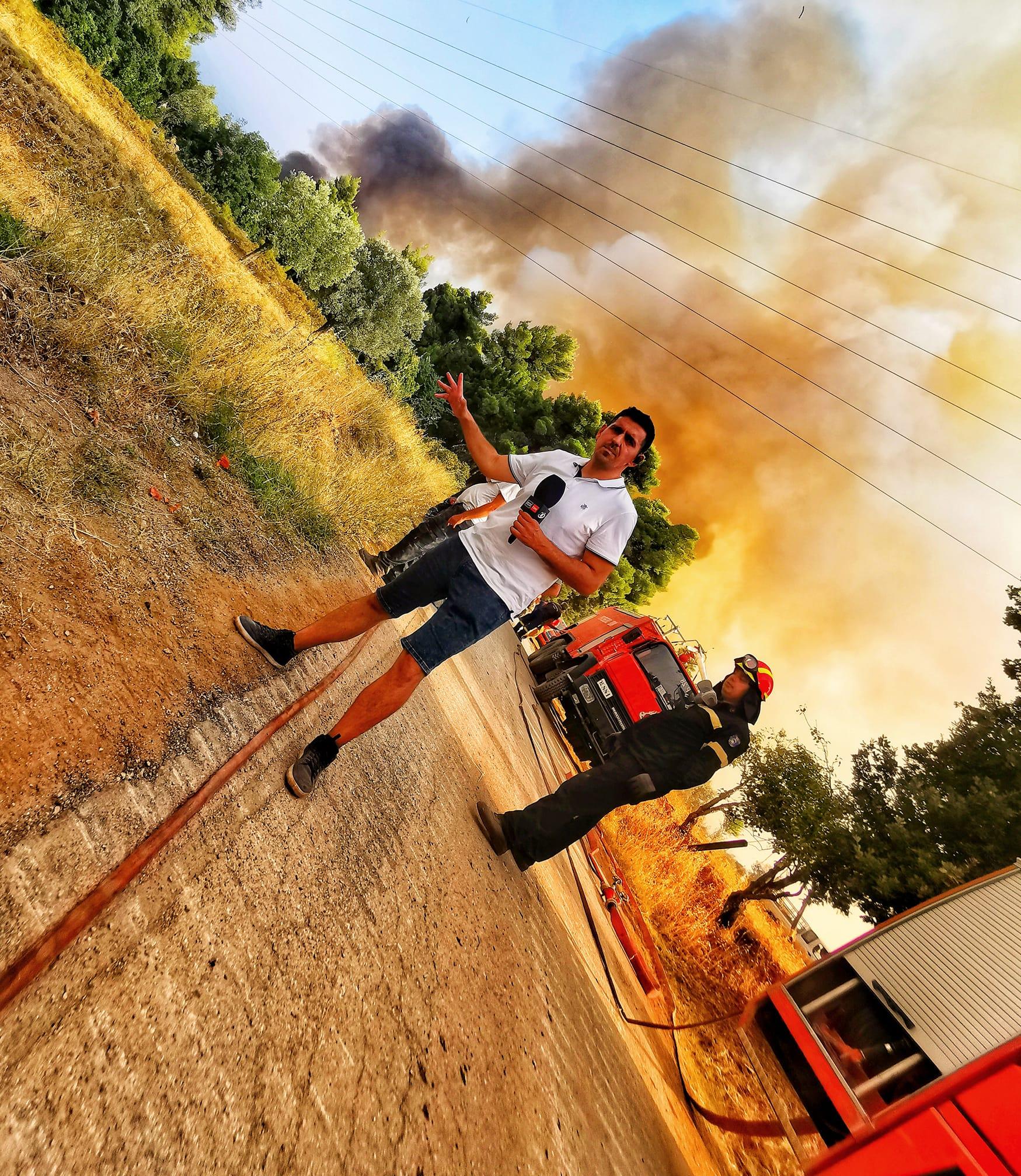 Giornalista rumeno dagli incendi: le aree residenziali avrebbero dovuto essere prioritarie - la Grecia ne uscirà più forte