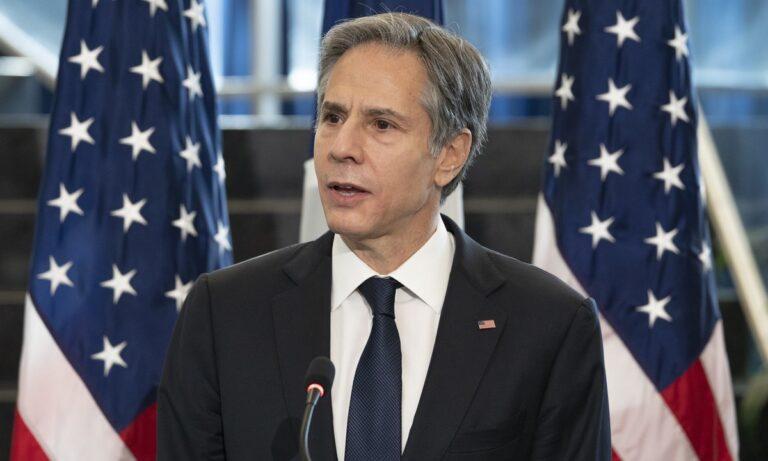Μπλίνκεν: Οι ΗΠΑ διατεθειμένες να συνεργαστούν με τους Ταλιμπάν
