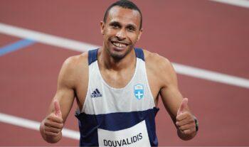 Ο Κώστας Δουβαλίδης ήταν συνεπής σε ένα ακόμη ολυμπιακό ραντεβού, το τέταρτο στην καριέρα του στο Τόκιο και σκέφτεται από τώρα και το Παρίσι!