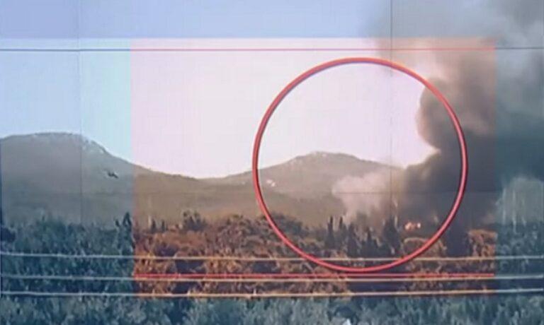 Φωτιά Βαρυμπόμπη: Βίντεο ντοκουμέντο – Έτσι ξεκίνησε η πυρκαγιά!