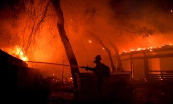 H φωτιά όπως σημειώνει καθηγητής καθηγητής πνευμονολογίας μπορεί να προκαλέσει πολλά προβλήματα υγείας στους πολίτες