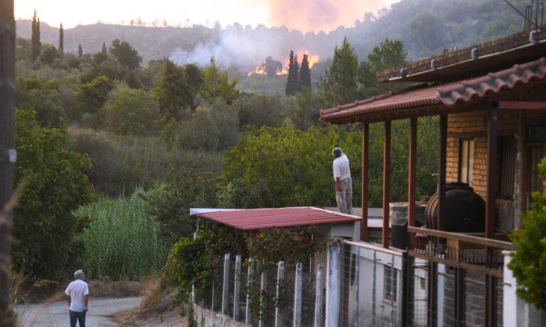 Φωτιά στην Αρχαία Ολυμπία: Νέα μπαράζ πυρκαγιών – Διπλό το μέτωπο της φωτιάς