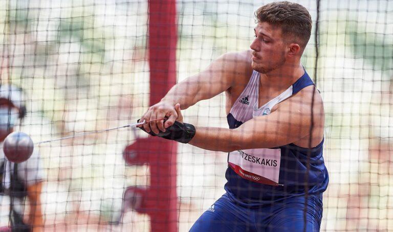Ολυμπιακοί Αγώνες 2020- Στίβος: Ολοκλήρωσε ο Φραντζεσκάκης με 72,19μ. (δηλώσεις)- Εκτός και ο Αναστασάκης με 73,52μ.