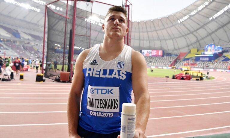 Ολυμπιακοί Αγώνες 2020- Στίβος: Ολοκλήρωσε ο Χρήστος Φραντζεσκάκης με 72,19μ.