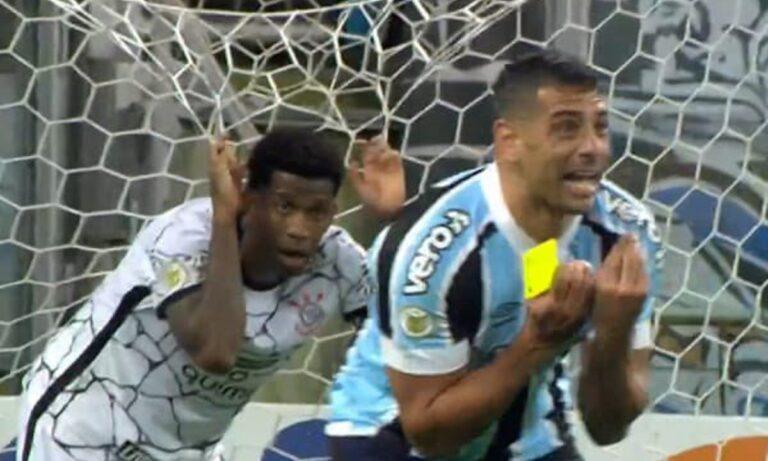 Βραζιλία – Απίστευτο: Παίκτης άρπαξε την κίτρινη κάρτα από διαιτητή και έφυγε