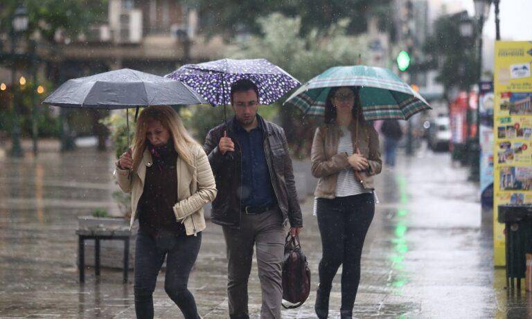 Καιρός: Έκτακτο δελτίο – Ισχυρές καταιγίδες, άνεμοι και χαλάζι το απόγευμα