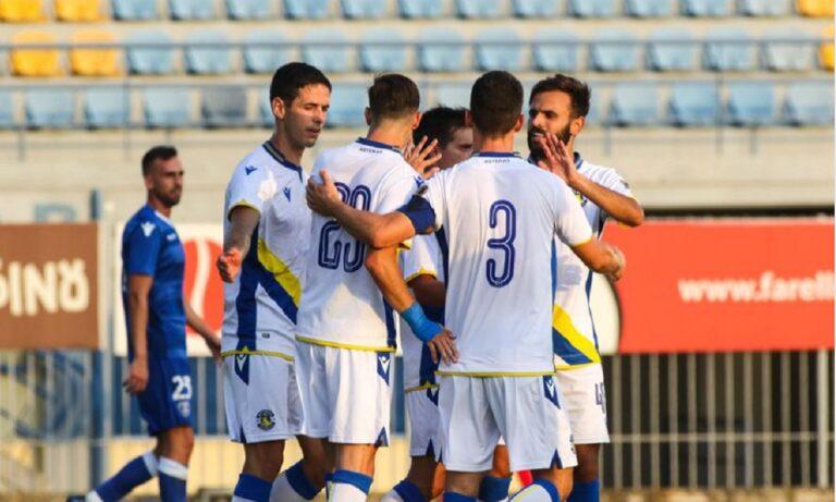 Αστέρας Τρίπολης – Ιωνικός 4-0: «Τεσσάρα» με ισάριθμους σκόρερ