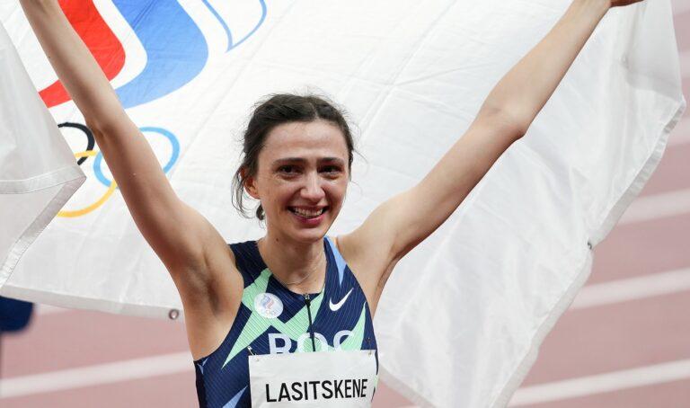 Η Μαρία Λασίτσκενε πήρε το πιο πολύτιμο μετάλλιο που έλειπε από την πλούσια συλλογή της στο ύψος, το χρυσό στους Ολυμπιακούς Αγώνες.