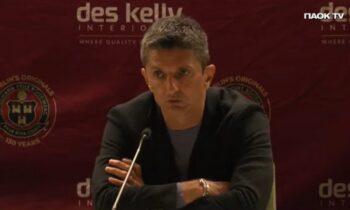 Ο Ραζβάν Λουτσέσκου μετά τον αγώνα με την Μποέμιαν στάθηκε στα λάθη της ομάδας του και τόνισε πως το αποτέλεσμα δεν είναι δίκαιο.