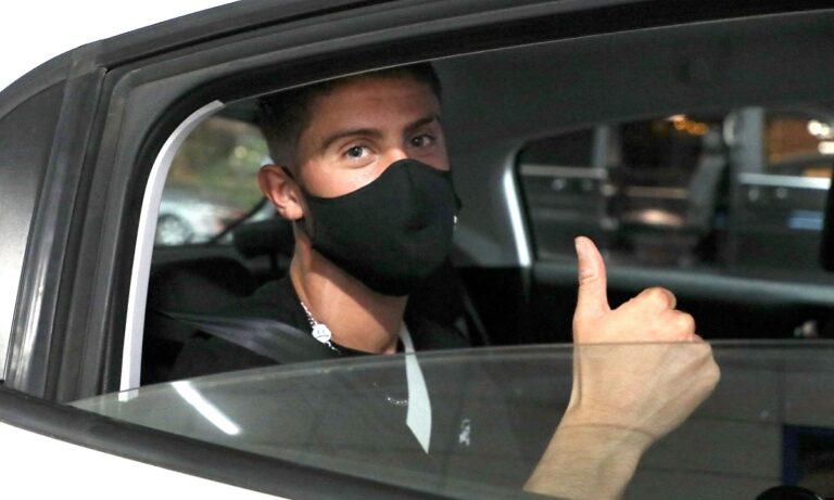 Τα ξημερώματα της Τετάρτης (25/8), ο Σουηδός Ραμόν Λούντκβιστ έφτασε στην Αθήνα για να ολοκληρώσει τον δανεισμό του στην ΠΑΕ Παναθηναϊκός