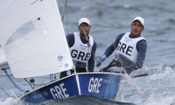 Ολυμπιακοί Αγώνες 2020: Οι Παναγιώτης Μάντης και Παύλος Καγιαλής πήραν την 8η θέση στους αγώνες που διεξάγονται στο Τόκιο στην ιστιοπλοΐα.