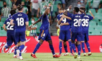 Μπέτις - Ρεάλ Μαδρίτης 0-1: Διπλό με Καρβαχάλ