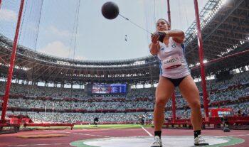 Η Σταματία Σκαρβέλη αποτέλεσε τη μοναδική ελληνική συμμετοχή στο πρόγραμμα της τρίτης ημέρας στον στίβο στους Ολυμπιακούς Αγώνες στο Τόκιο.