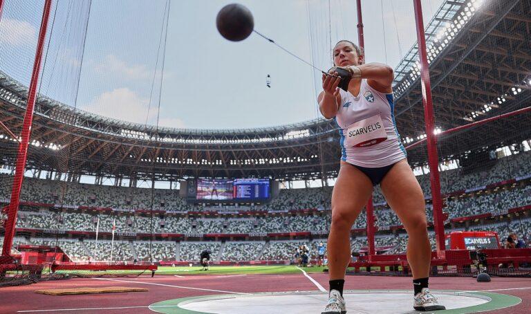 Ολυμπιακοί Αγώνες 2020- Στίβος: Ο αγώνας της Σταματίας Σκαρβέλη (φωτογραφίες)