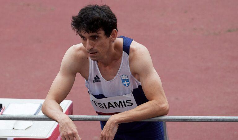 Ολυμπιακοί Αγώνες 2020- Στίβος: Σταμάτησε τον αγώνα ο Δημήτρης Τσιάμης