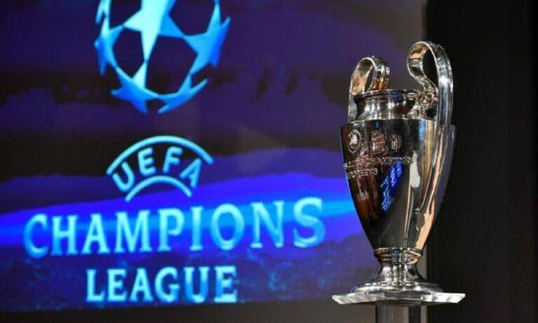 Champions League – Κλήρωση: Αυτά είναι τα οκτώ γκρουπ