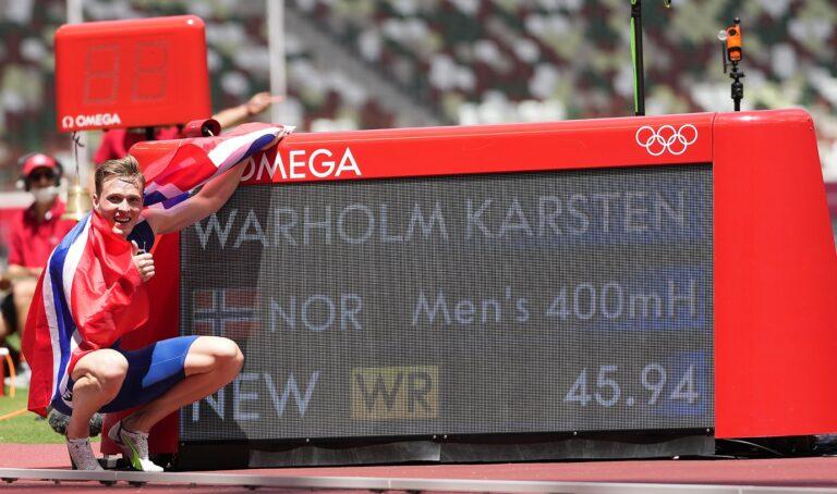 Ολυμπιακοί Αγώνες 2020- Στίβος: Τρομερό παγκόσμιο ρεκόρ ο Γουόρχολμ στα 400μ. εμπόδια!
